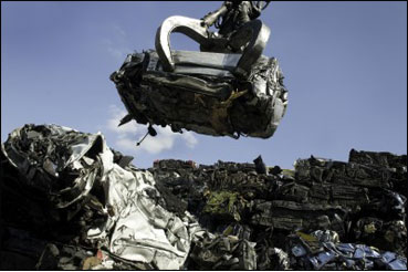Scrap and End of Life Commercial Vehicle Recycling Ludlow Shropshire